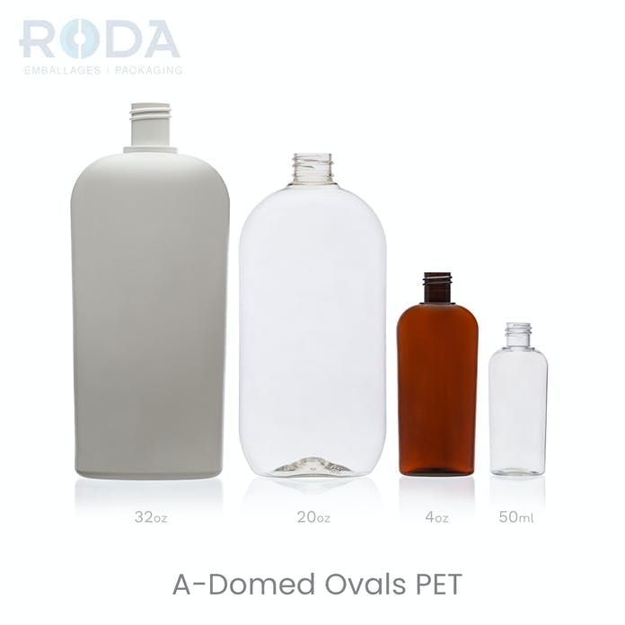 A-Domed Ovals PET