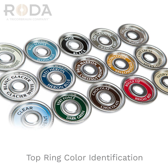 Top Ring Color Identification