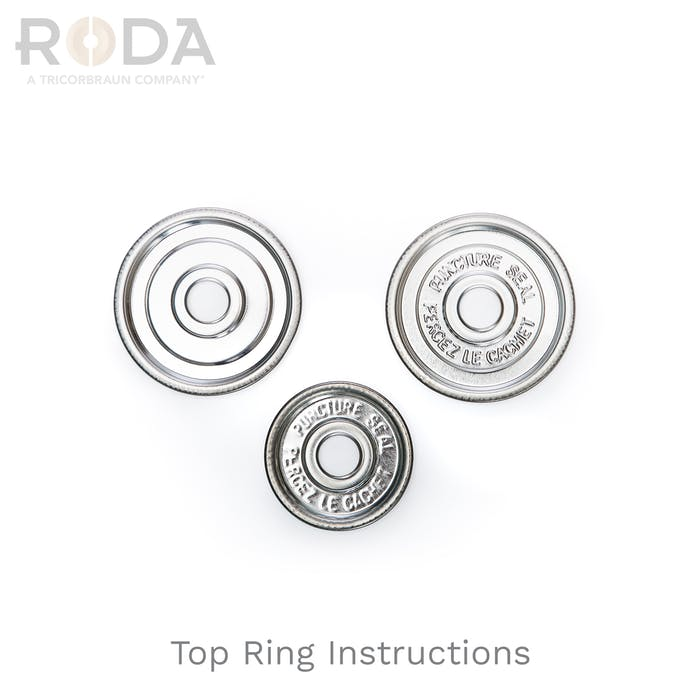Top Ring with Instructions