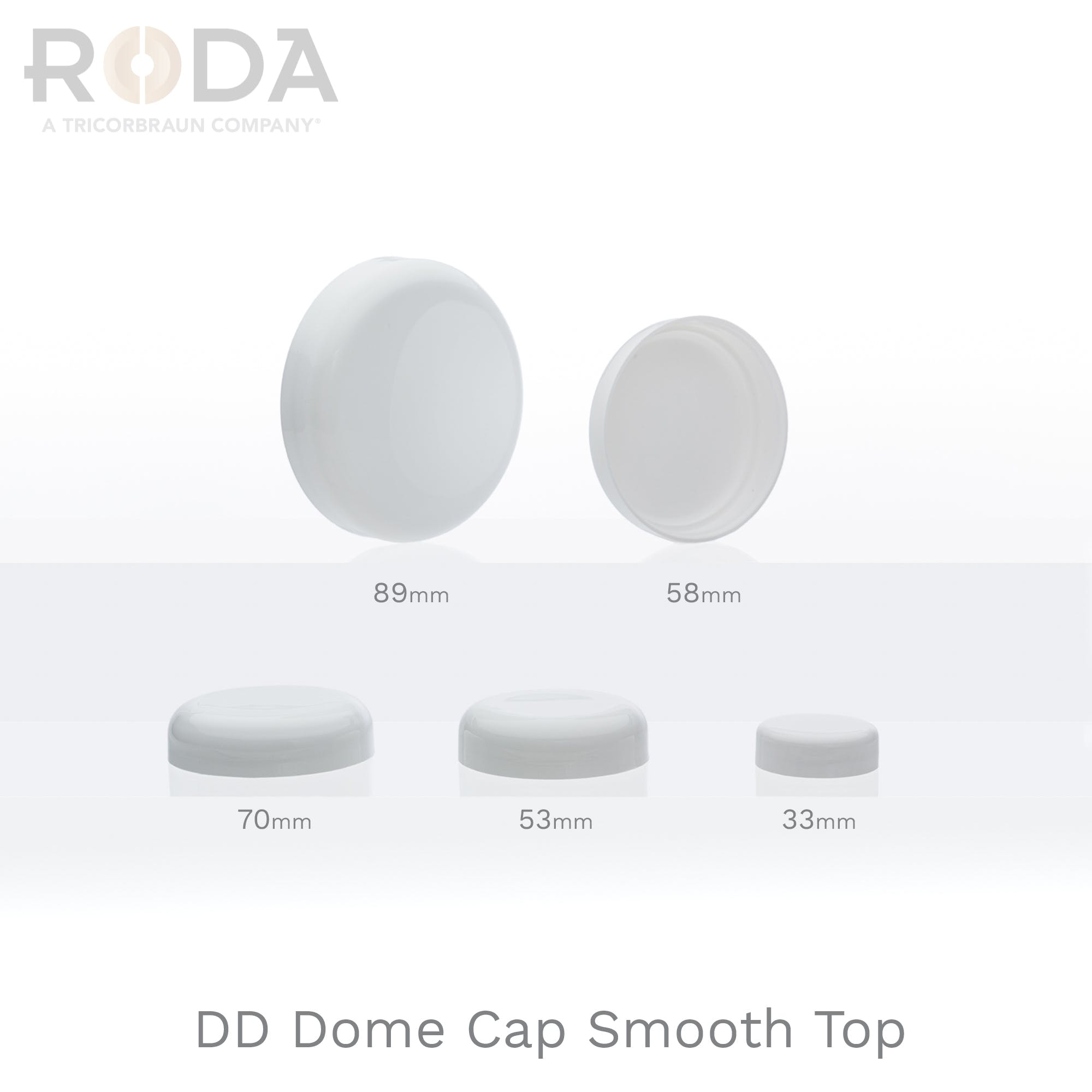 DD Dome Cap Smooth Top