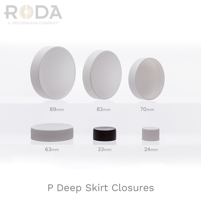 P Deep Skirt Closures