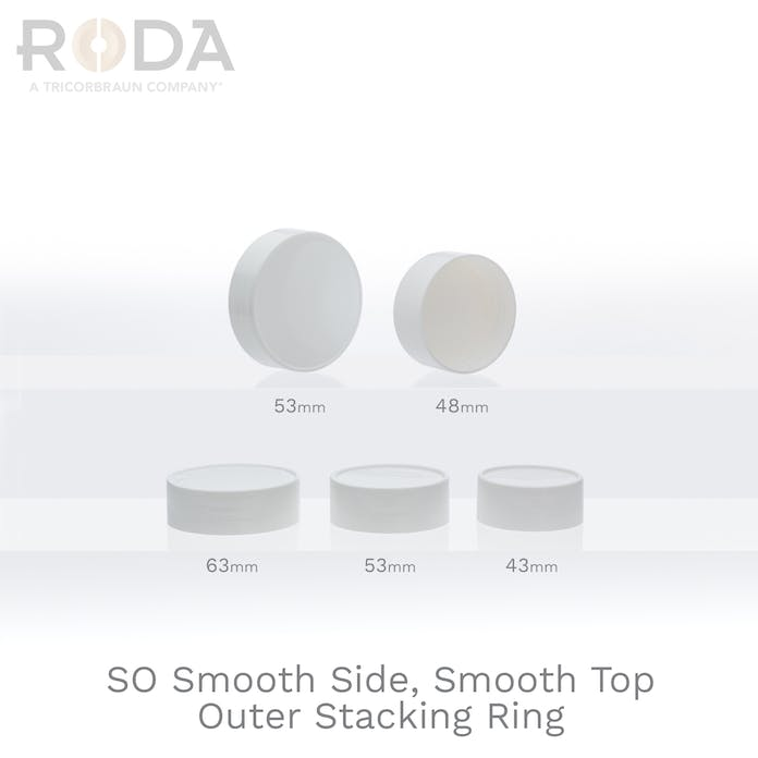 SO Smooth Side, Smooth Top Outer Stacking Ring