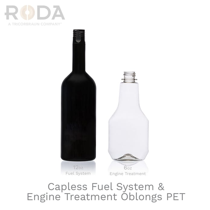 Capless Fuel System & Engine Treatment Oblongs PET