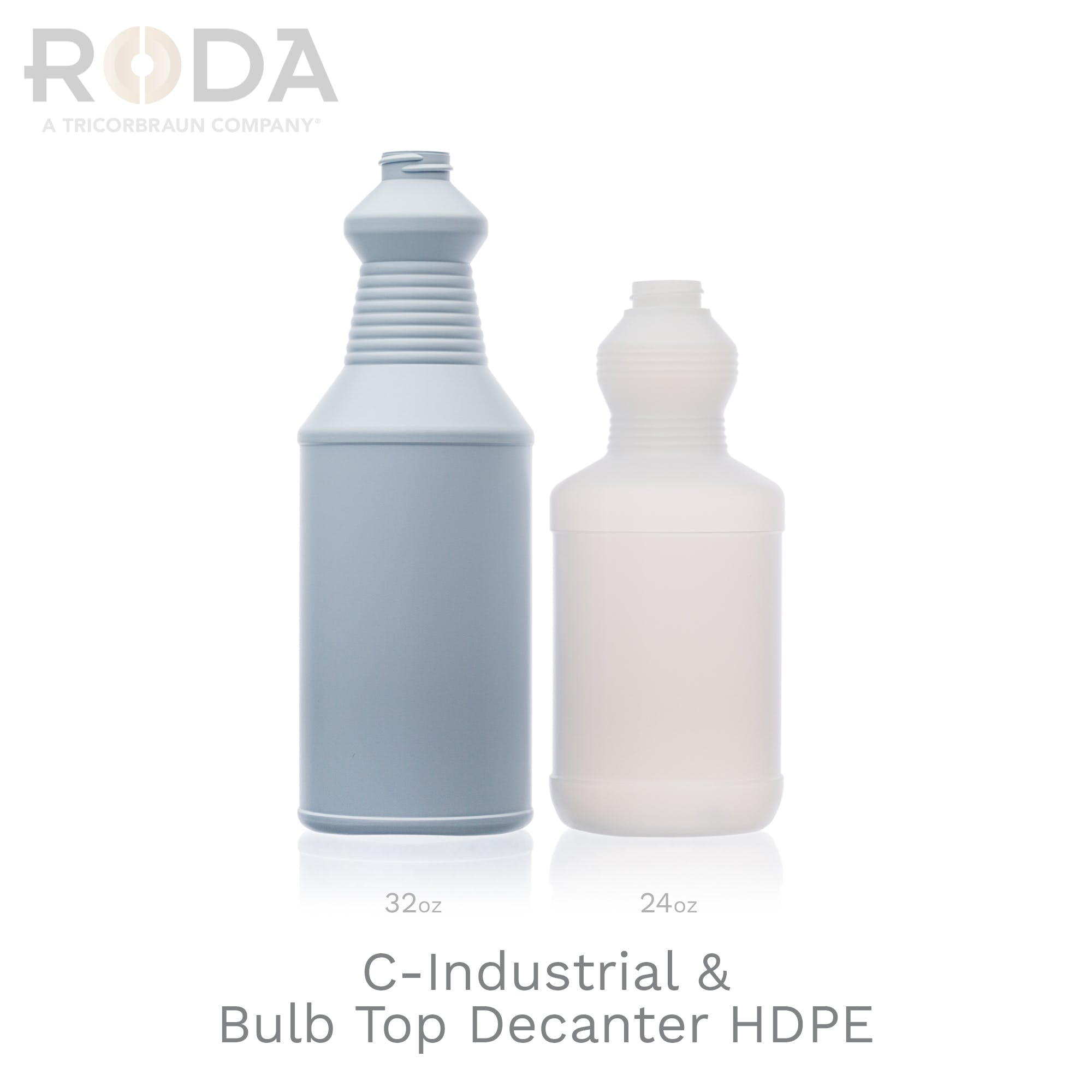 C-Industrial & Bulb Top Decanter HDPE