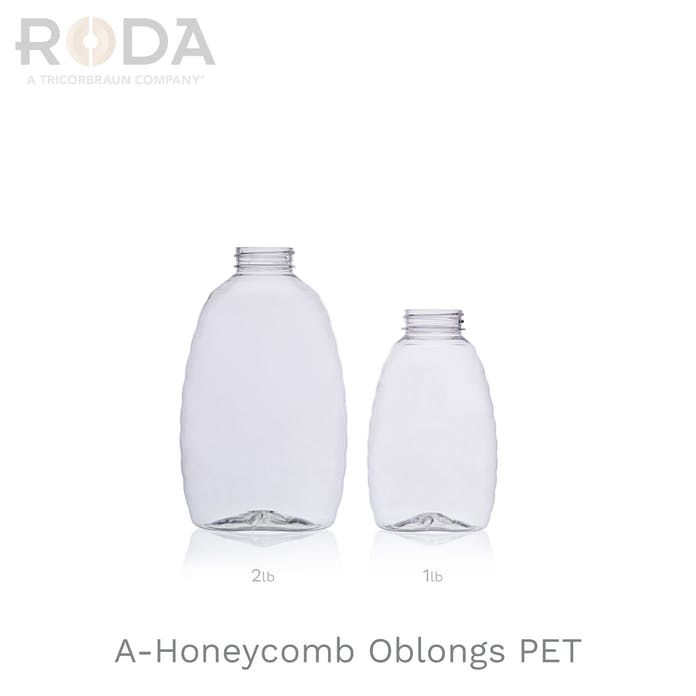 A-Honeycomb Oblongs PET