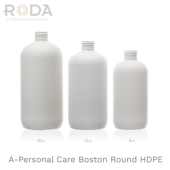 A-Personal Care Boston Round HDPE