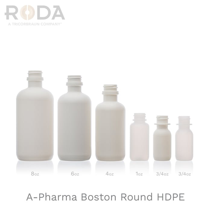 A-Pharma Boston Round HDPE