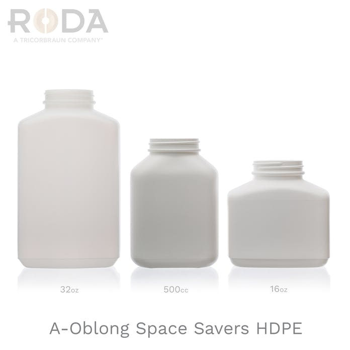 A-Oblong Space Savers HDPE