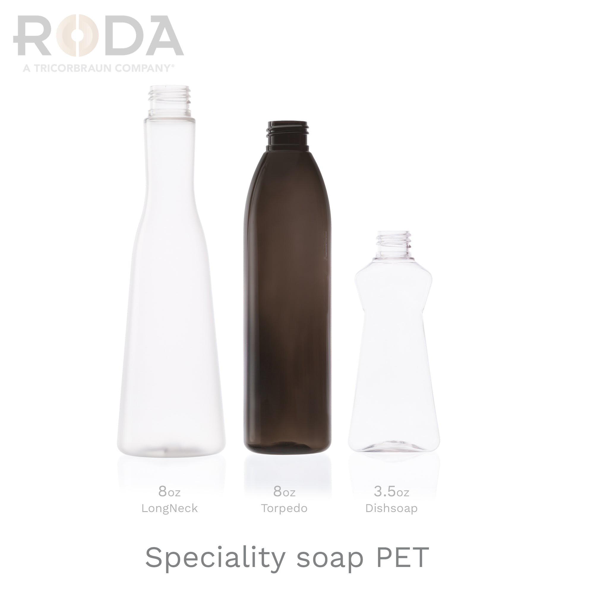Speciality soap PET