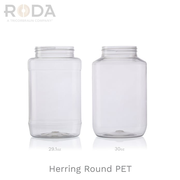 Herring Round PET