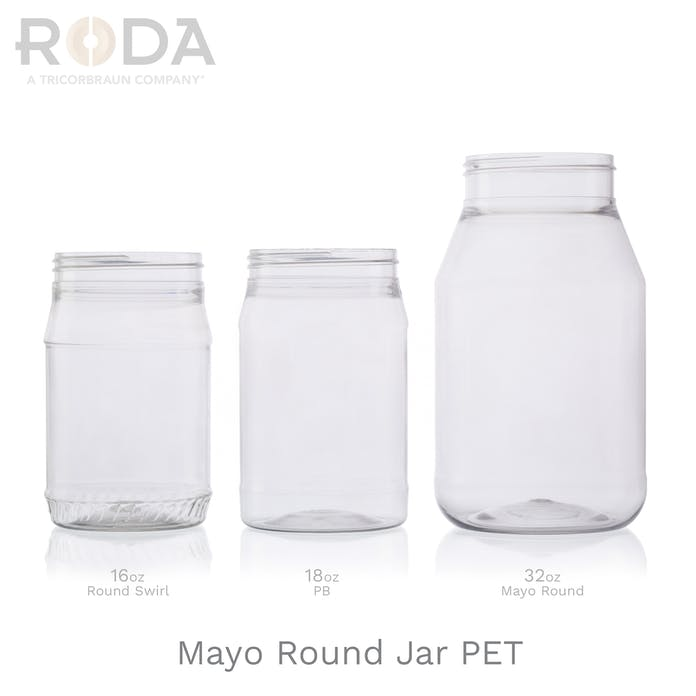 Mayo Round Jar PET