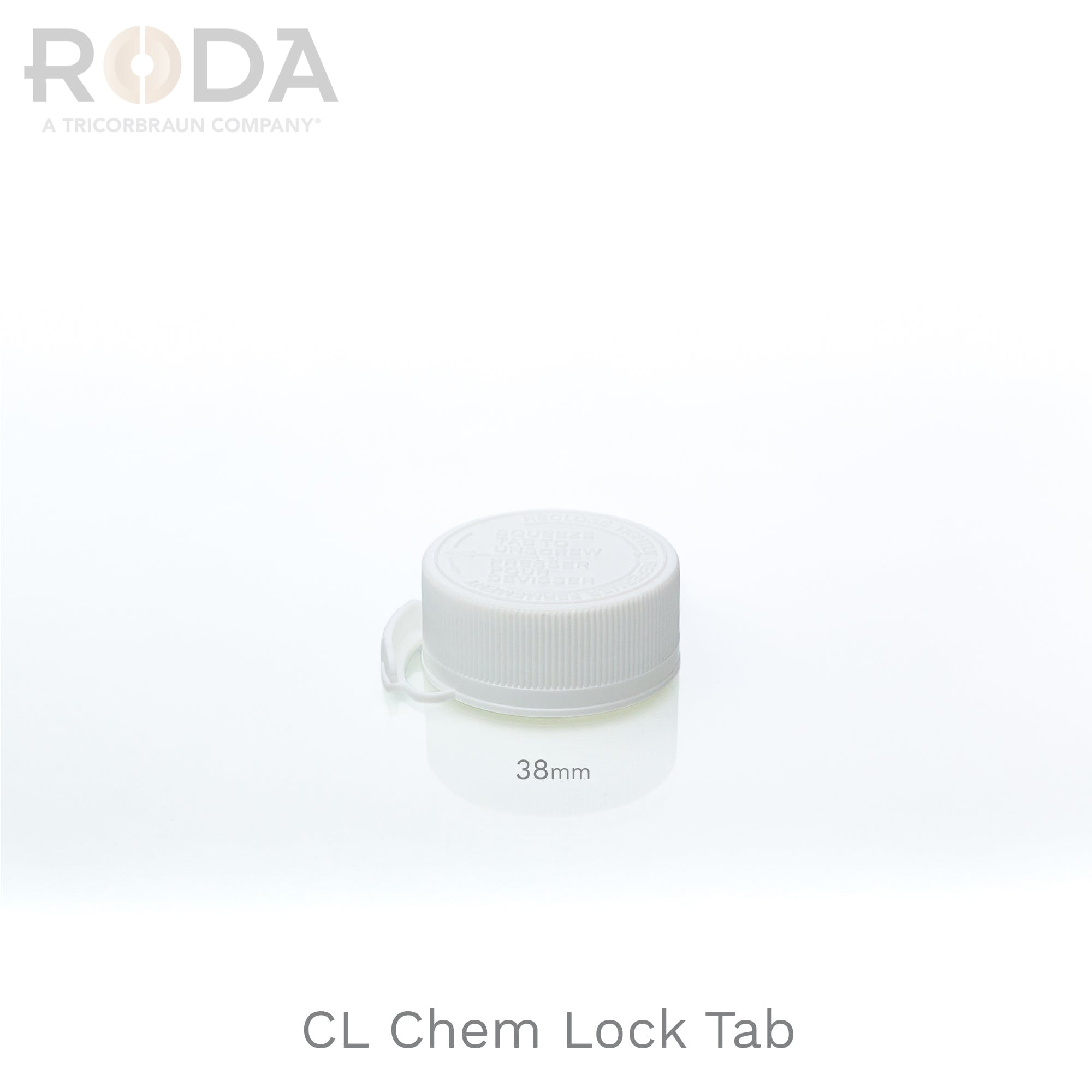 CL Chem Lock Tab