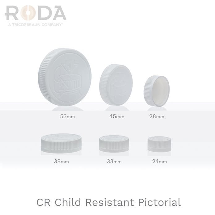 CR Child Resistant Pictorial
