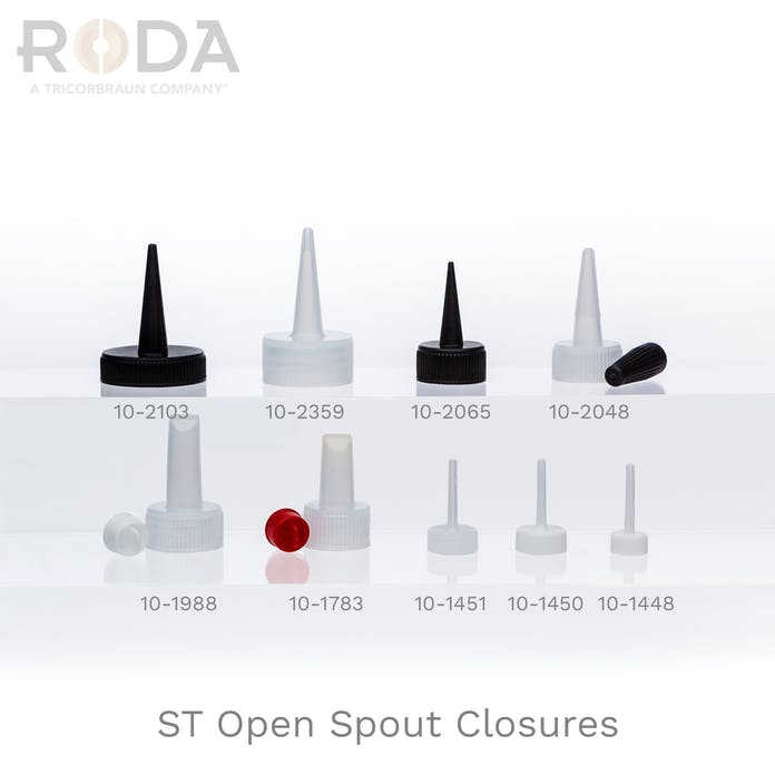 ST Open Spout Closures