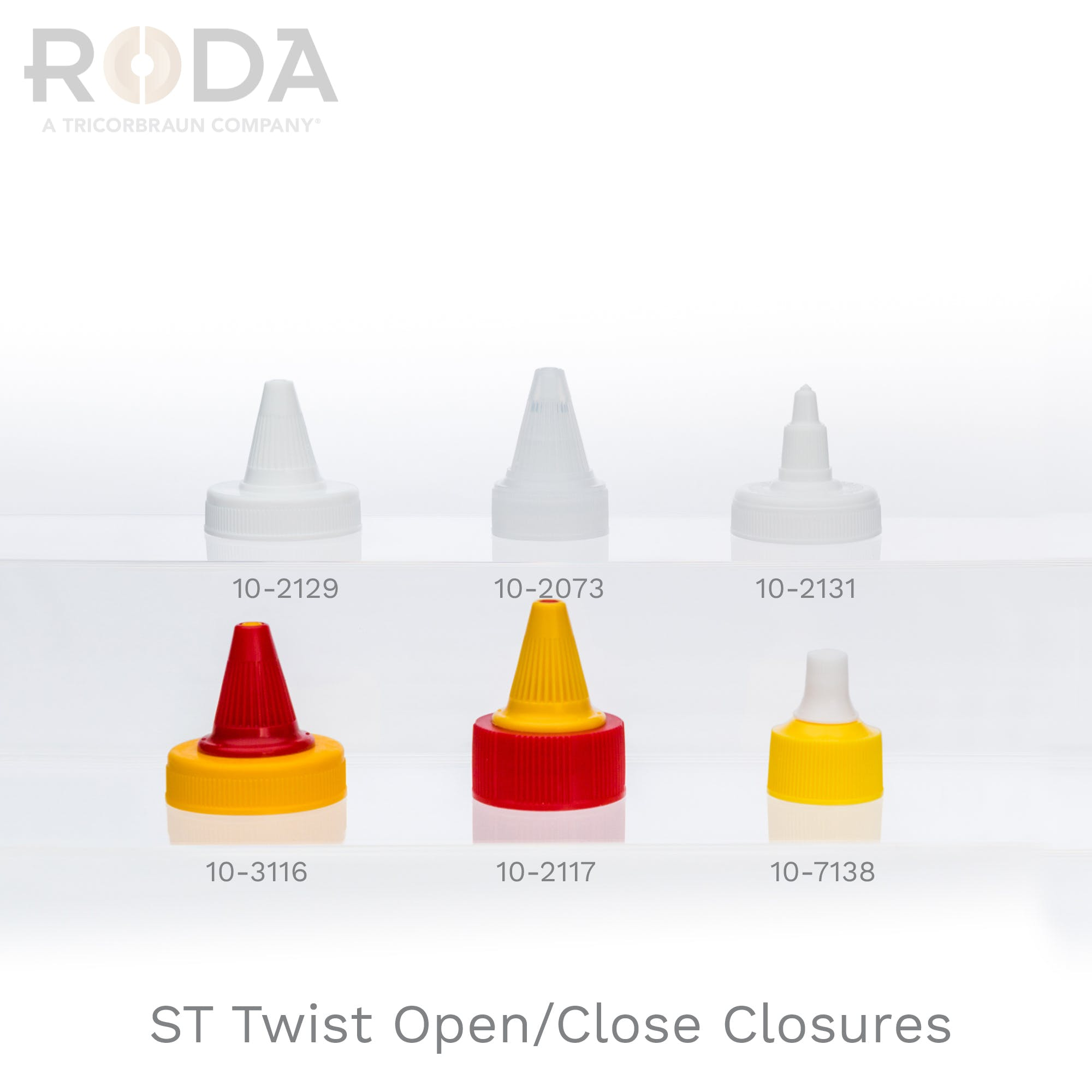 ST Twist Open/Close Closures