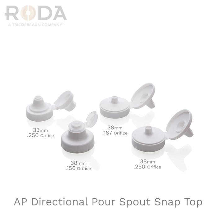 AP Directional Pour Spout Snap Top