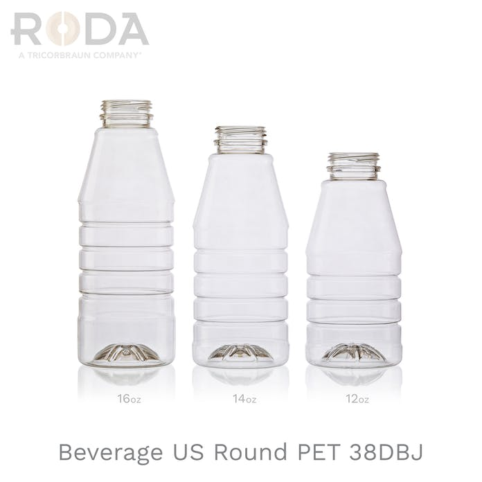 Beverage US Round PET 38DBJ