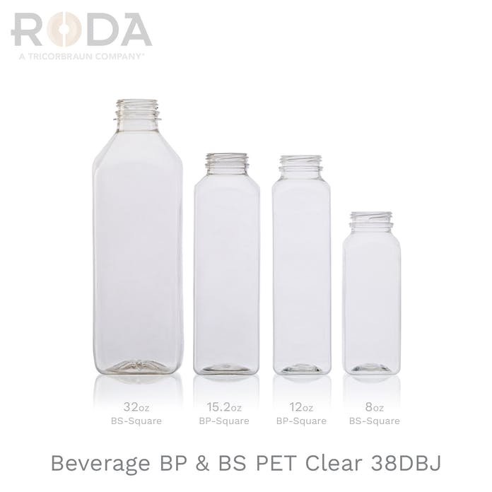 Beverage BP & BS PET Clear 38DBJ