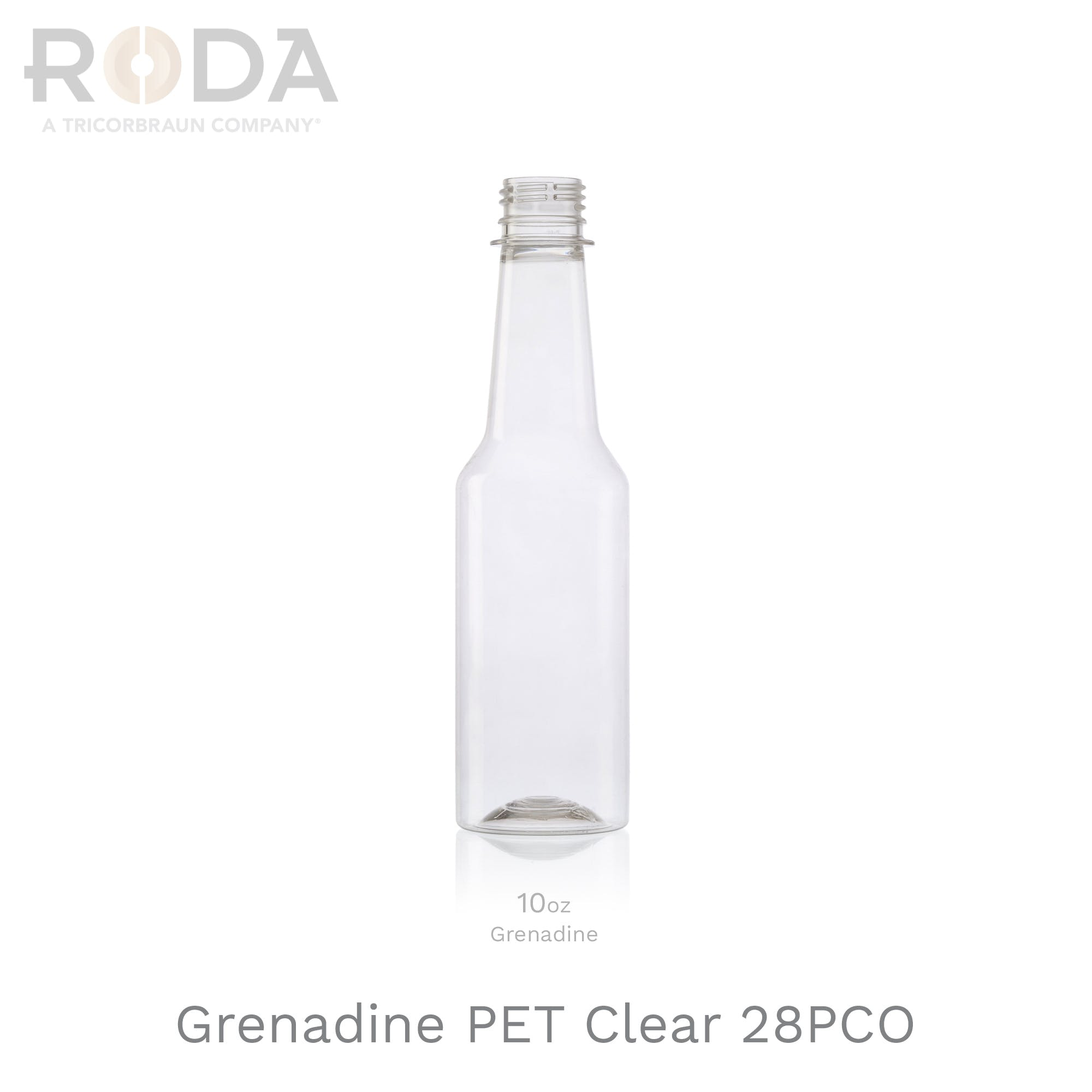Grenadine PET Clear 28PCO