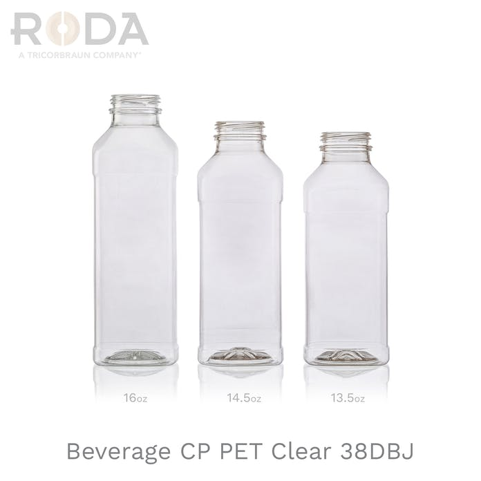 Beverage CP PET Clear 38DBJ