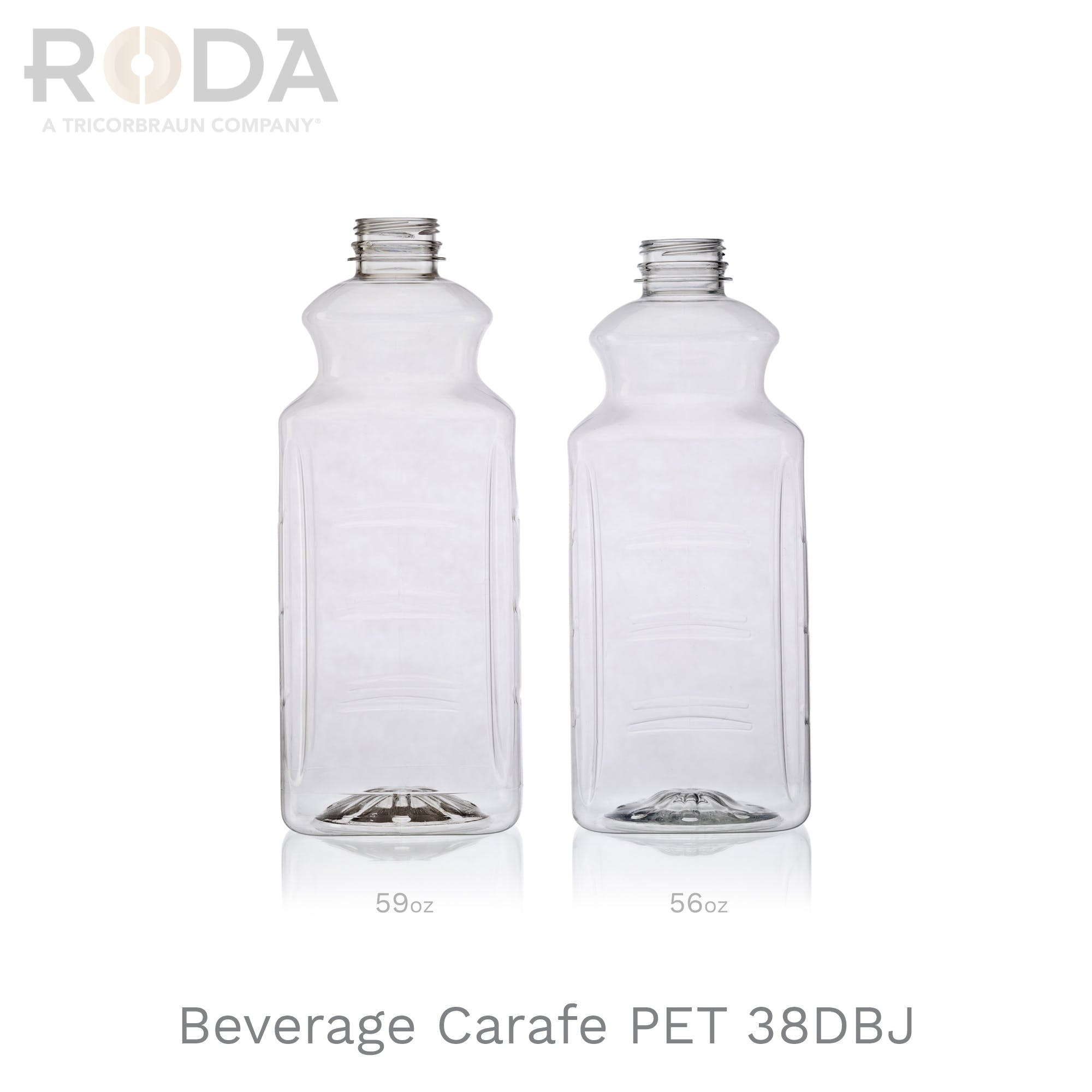Beverage Carafe PET 38DBJ